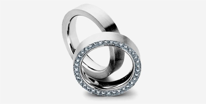 95553b51f0907 Contemporary Wedding Rings - Element Jewellery